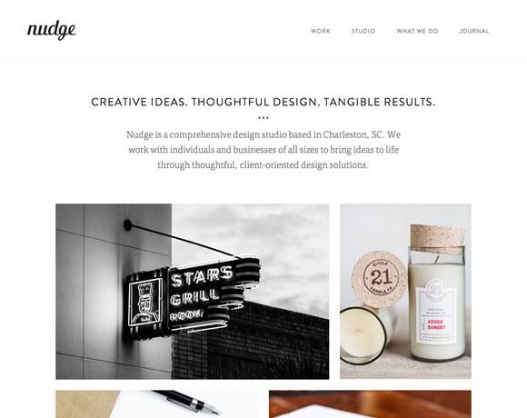 Минимализм дизайн сайт