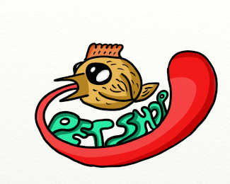«pet shop» (logo)