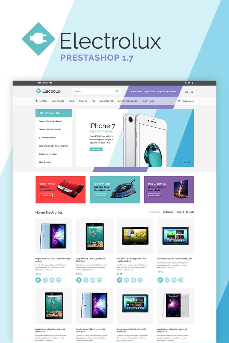 PrestaShop шаблон для магазина электроники и бытовой техники ... e73d9dd8a3cad