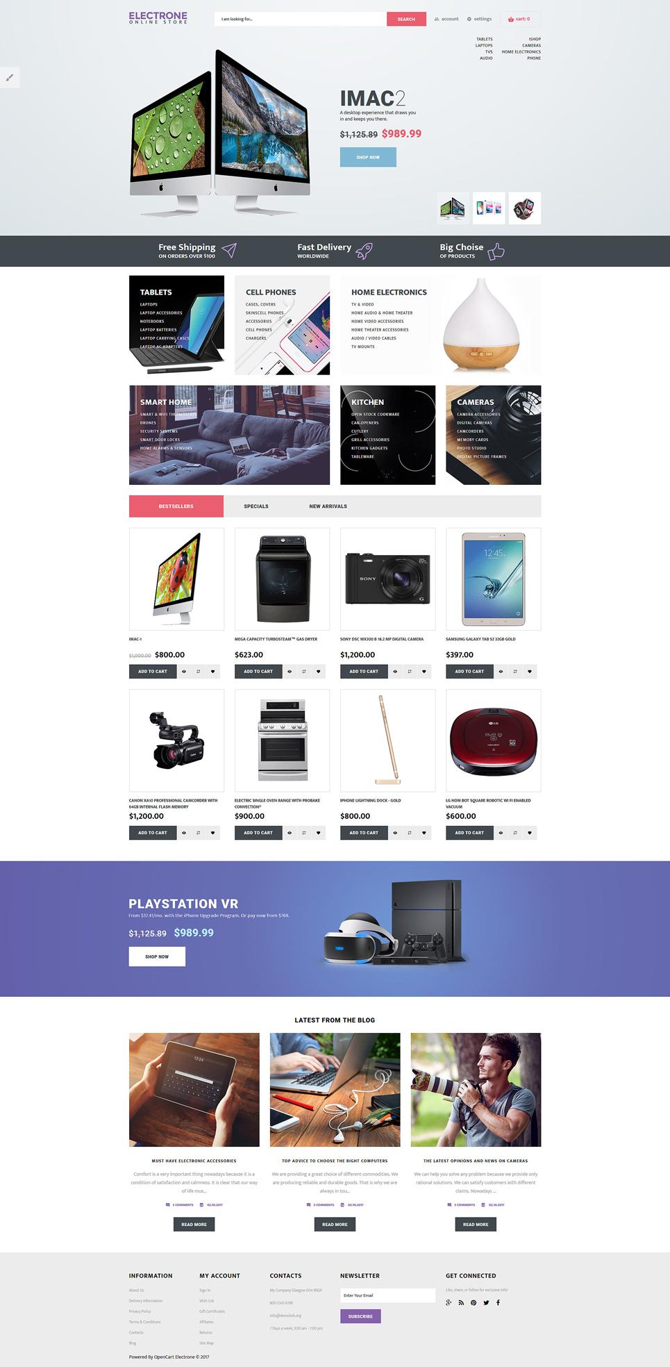 OpenCart шаблон для магазина электроники и бытовой техники f246bfcdb2380