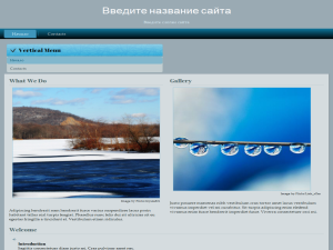 Шаблон сайта, wordpress