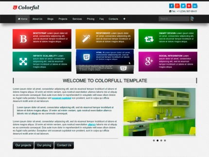 Colorful Multipurpose Template