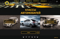 landing page taxi
