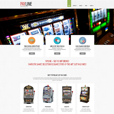 Скачать шаблон сайта интернет казино детские игровые автоматы для фойе кинотеатров, характеристики