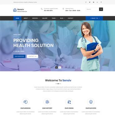 HTML шаблон на медицинскую тему