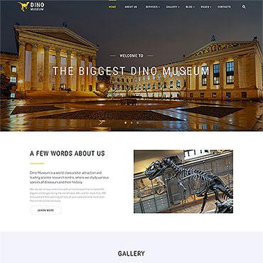 HTML шаблон на тему культуры и искусства
