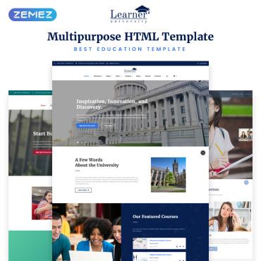 HTML шаблон для вуза или школы
