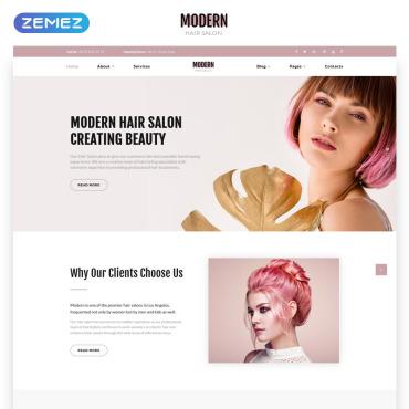 HTML шаблон на тему красоты и здоровья