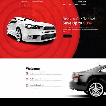 HTML шаблон авто или мото тематики