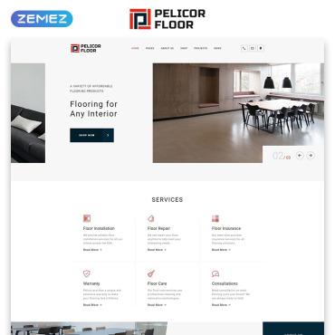 HTML шаблон для дизайна интерьеров и мебели
