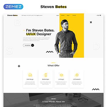 HTML шаблон для веб-студии или дизайнера, по софт тематике