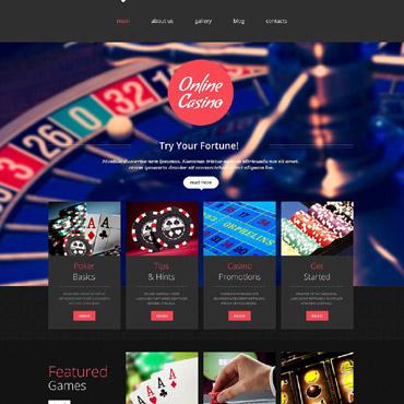 Казино шаблоны для юкоз онлайн казино с игрой на фишки