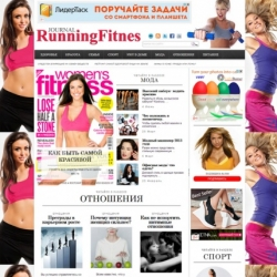 Fitness - wordpress шаблон от QIWIT