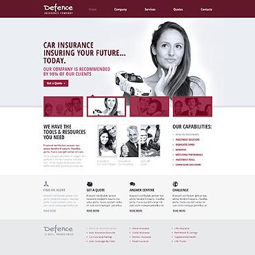 HTML шаблон бизнес тематики