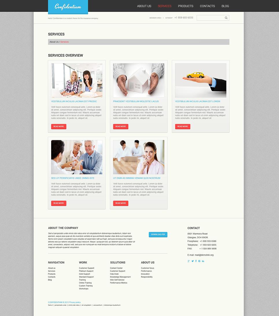 Дизайн шаблон для wordpress